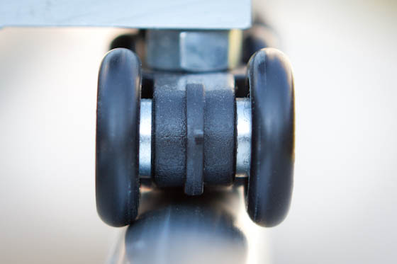Slider wheels