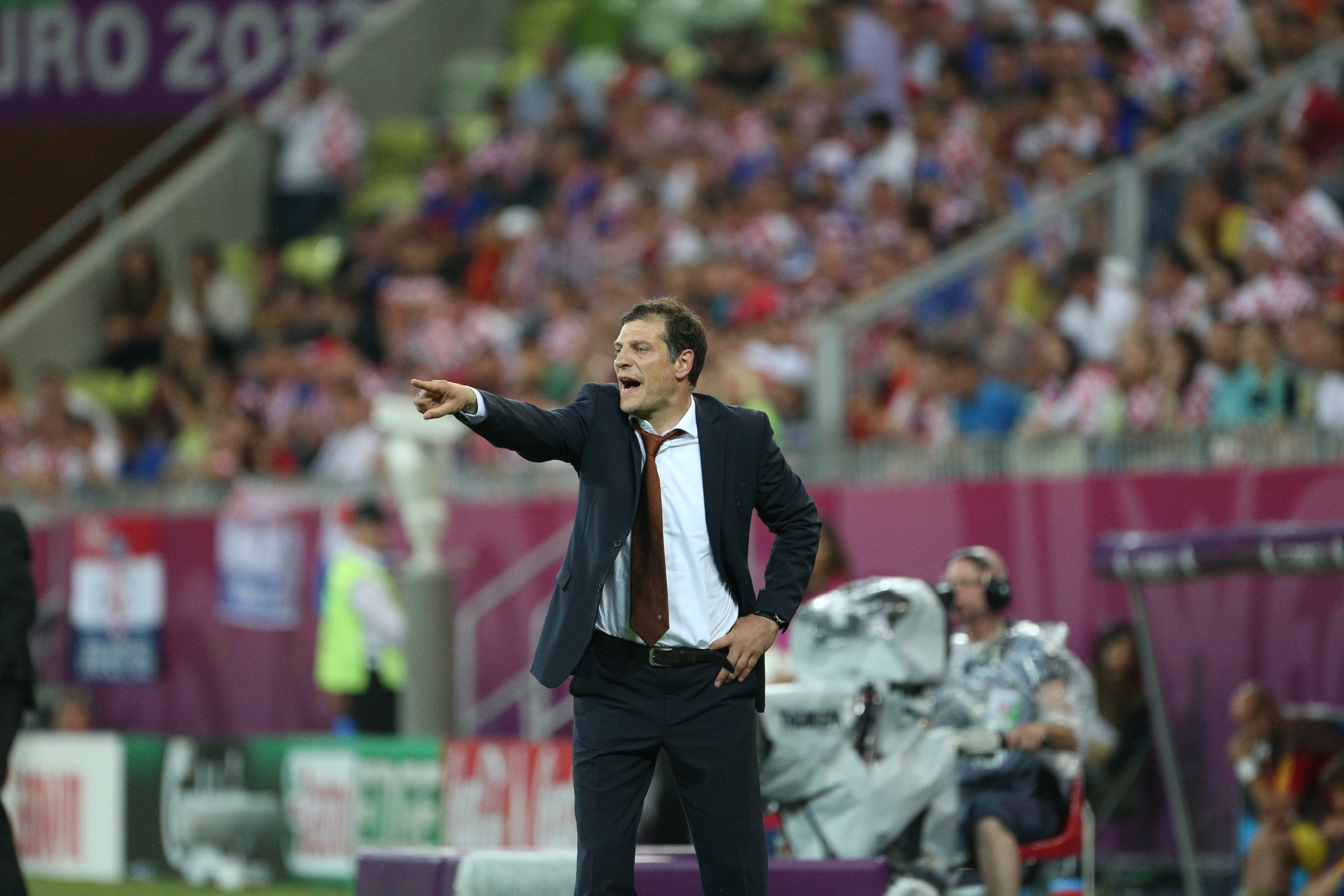 Slaven Bilic Euro 2012
