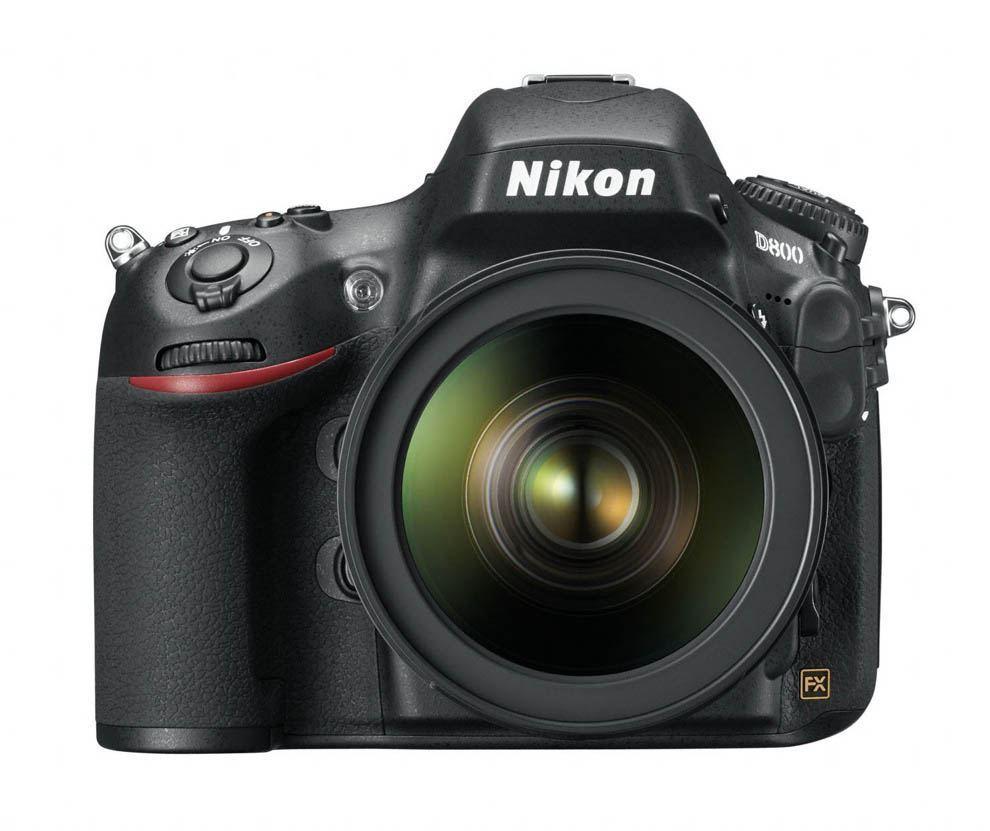 The Nikon D800