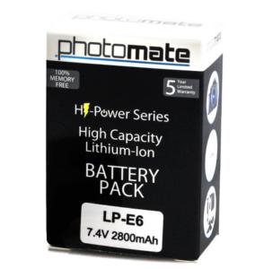 low-capacity-lp-e6-battery